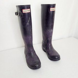 Hunter Knee-High Rubber Boots